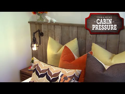 DIY Headboard Using Wood From The Old Dock – Cabin Pressure