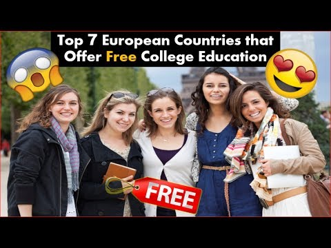 Top 7 European Countries that Offer Free College Education | Free!
