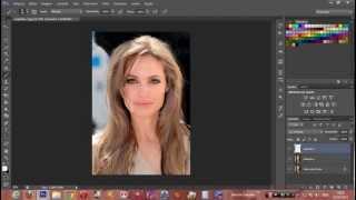 como mudar a cor dos cabelos no photoshop cs6