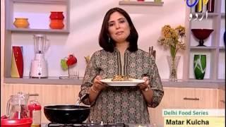 Aks - e - Rasoi - Matar Kulcha and Kulfi