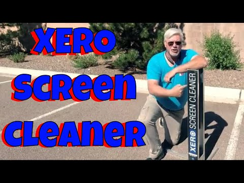 How to use the Xero Screen Cleaner