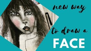 Using Books Inspiration Learning Draw Face New Way