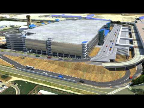 Charlotte Douglas International Airport - 3d Animation