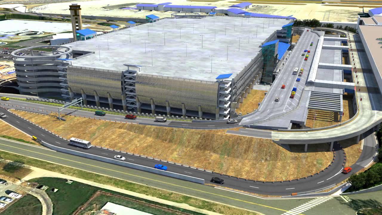 Charlotte Nc Airport >> Charlotte Douglas International Airport 3d Animation Youtube
