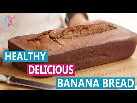 How to Make Healthy Banana Bread | No Sugar!