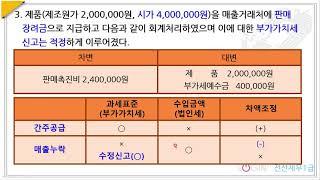 045.86회 전산세무1급-실무5.법인조정-1.수입금액…