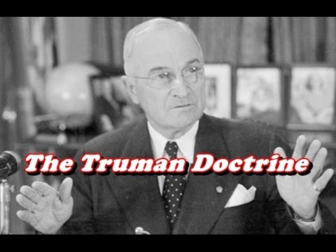 history brief the truman doctrine youtube