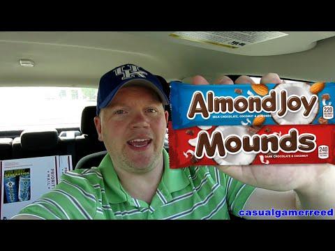 Reed Reviews Almon Joy vs Mounds Candy Bar