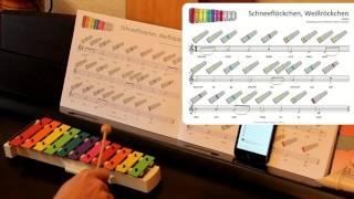 Weihnachtslieder für das SONOR BWG Boomwhackers Glockenspiel