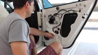 Джетту на прокачку, установка динамиков в двери.  Часть 3(В этом видео устанавливаем колонки в Джетту. Полный процесс как снять дверные панели в VW Jetta, снять родные..., 2015-02-17T06:24:24.000Z)