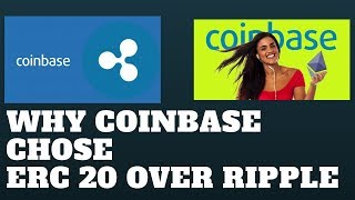 ERC 20 TOKENS OVER RIPPLE  (0x and AUGUR) ON COINBASE/ 80000 new Crypto fan