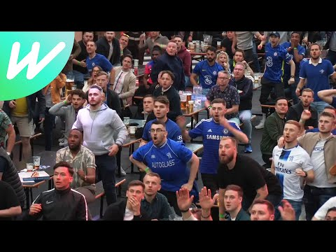 """""""Speechless"""" - Chelsea fans react after winning the UCL final 