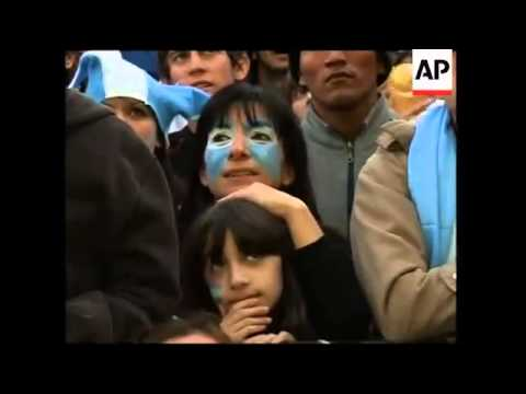 Celebrations in capital as Argentina heads into next round