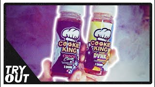 Cookie King Choco Cream and DVNK E-Juice (Taste Test / Review) w/ Asson | Tryout.