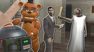 BLOWING UP GRANNY'S HOUSE!? - Garry's Mod Gameplay - Gmod Granny Multiplayer Map