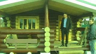 Сруб бани в чашу(Срубы из Псковской области:Чаша, Канадка , Лафет. http://domlafet.ru http://vk.com/domlafet Russia log cabin, Russia log house., 2012-05-19T14:55:04.000Z)