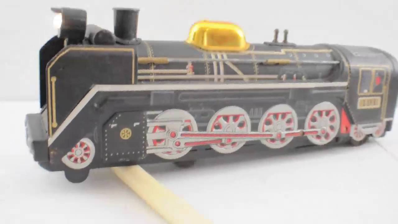 large-scale toy train Vintage