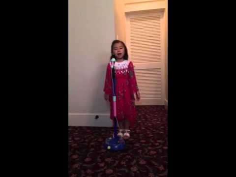 Sing me a song again daddy by little  Princess Sofie.