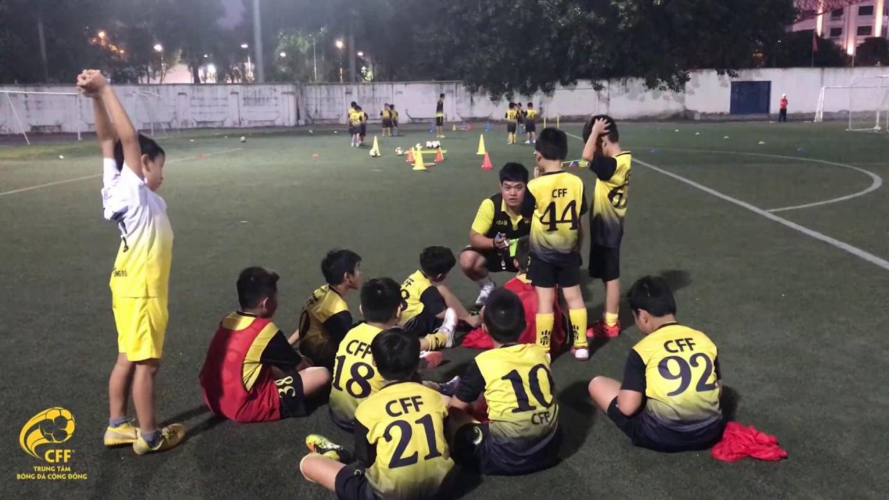 Dạy bóng đá trẻ em Hà Nội, trò chơi vận động – coach Thanh Tùng