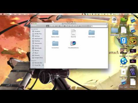 How to save Visual Boy Advance (VBA) on mac!