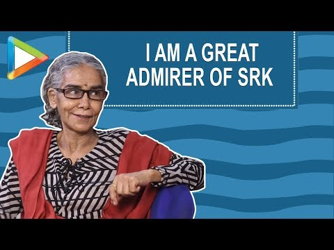 "Surekha Sikri: ""I am a great ADMIRER of Shah Rukh Khan"" 