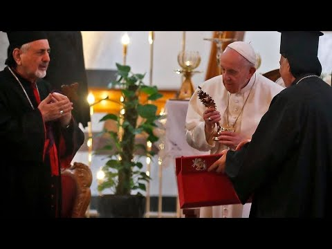 البابا فرنسيس يدعو من بغداد إلى وقف -العنف والتطرف والفساد وعدم التسامح-  - نشر قبل 4 ساعة
