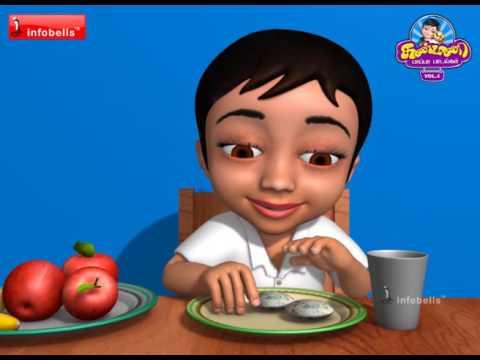 Good Habits | Tamil Rhymes for Children | Infobells