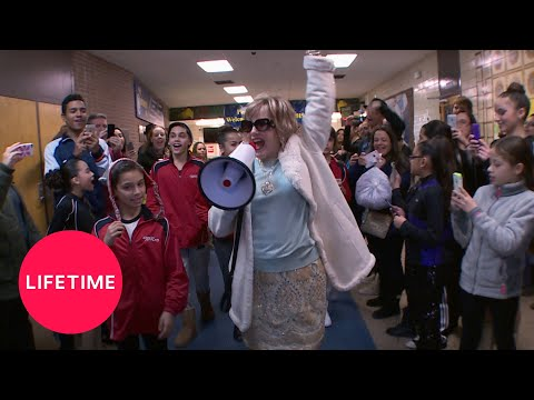 Dance Moms: Cathy with a Megaphone (Season 5 Flashback) | Lifetime