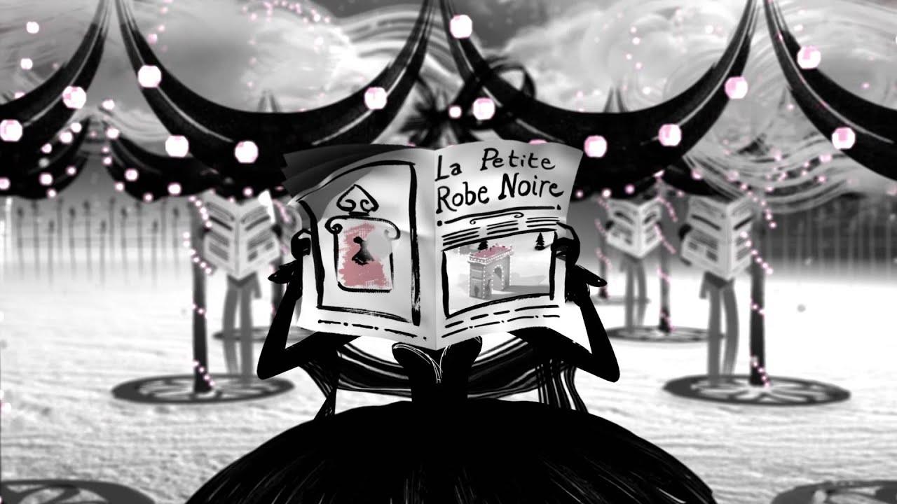 L'histoire de la petite robe noire guerlain