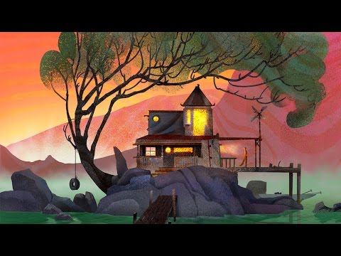 Animated Landscape Painting – Photoshop & After Effects