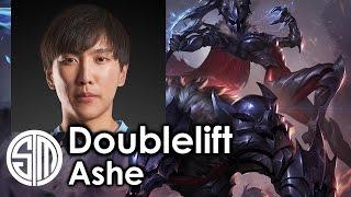 Doublelift picks Ashe