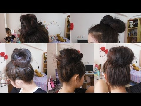 How to ทำผม มัดผมง่ายๆ (5 ways to Easy Bun Hair)