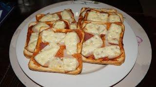 Εύκολες συνταγές - Πιτσάκια σε 10'