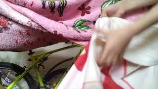 Строю дом из одеял!! Руслан тур по дому из одеяла