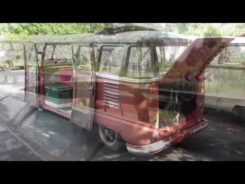 1954 vw t1 samba bus pt1 @ wachtebeke 2012 splitbus nation