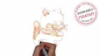 Нарисованные карандашом кошки  Как красиво нарисовать кошку поэтапно за 23 секунды