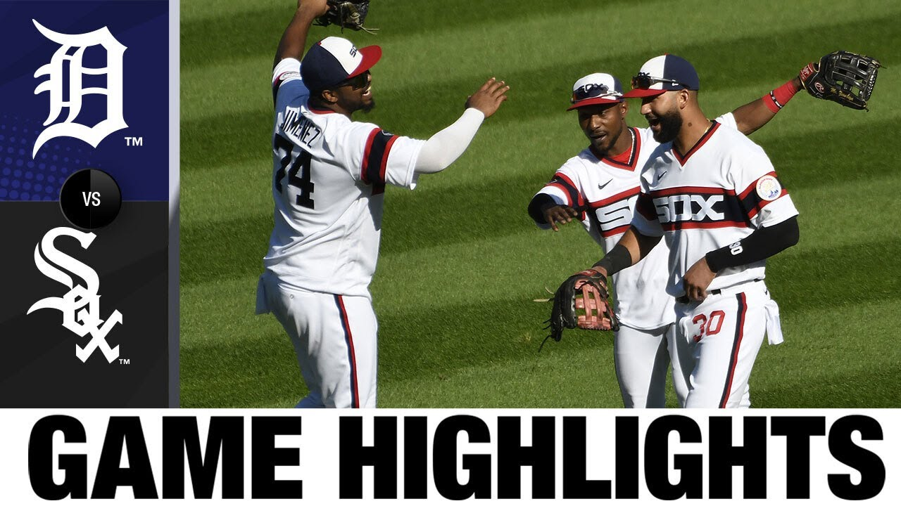 Balanced offense leads White Sox to 5-2 win | Tigers-White Sox Game Highlights 9/13/20