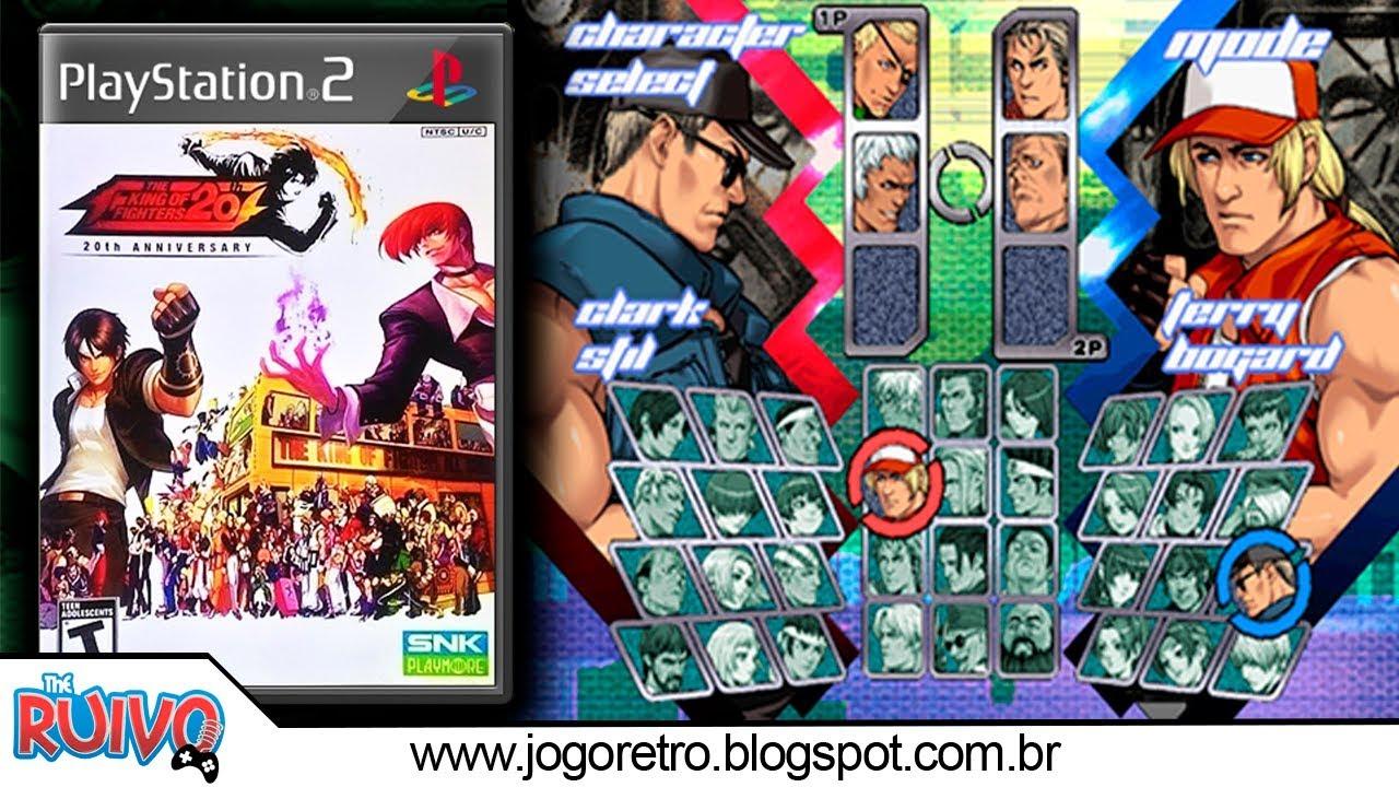 2002 THE KING OF PARA BAIXAR FIGHTERS PCSX2