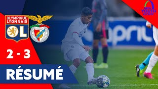 VIDEO: Résumé Long OL-SL Benfica | Youth League 2019-2020  | Olympique Lyonnais
