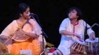 Tabla Girl Rimpa Siva accompanies Flute Legend - Pt. Hariprasad Chaurasia (USA, New York)