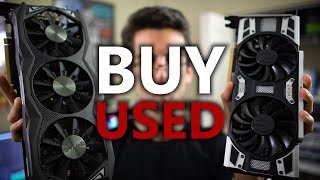 The Used Graphics Card Market is GLORIOUS Right Now!