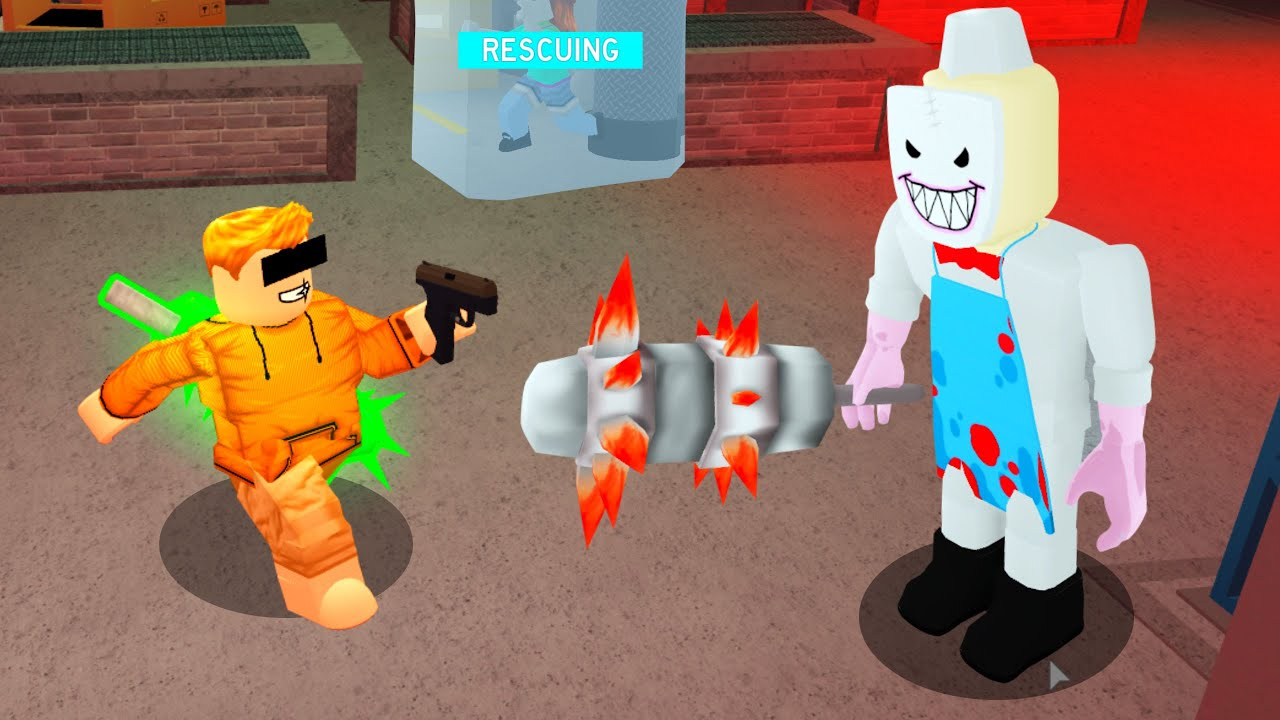 ROBLOX JERRYS ICE CREAM with GUNS.. (Rescue Mode)