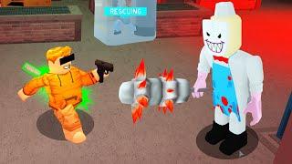 ROBLOX JERRYS ICECREAM But I Use a GUN.. (Rescue Mode)