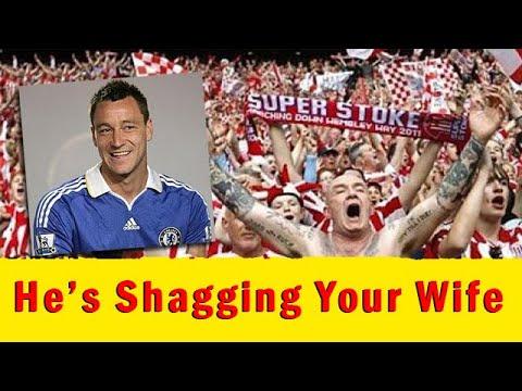 Top Funniest Chants In English Football ● With Lyrics