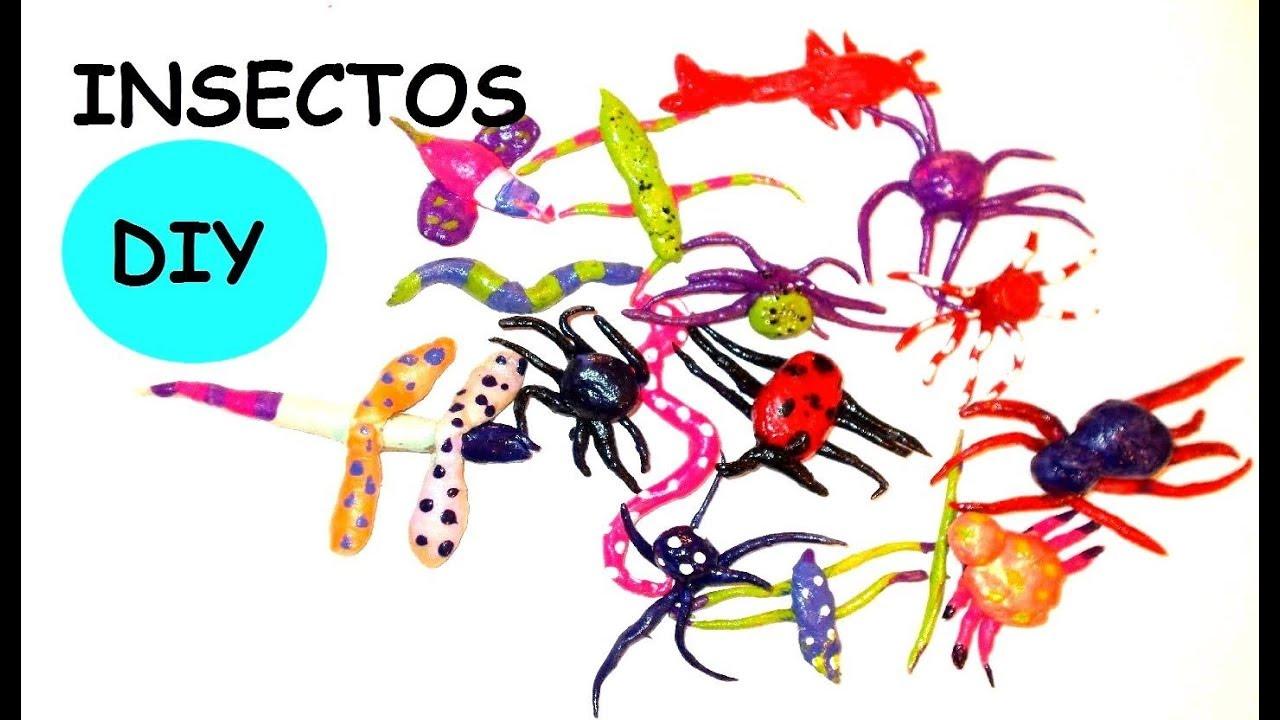 Como hacer insectos de plastico falso plastico casero - Plastico inyectado casero ...