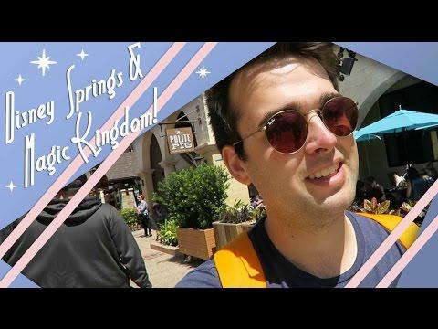 Disney Springs & Magic Kingdom at Night   Walt Disney World Vlog   April 2017    Adam Hattan