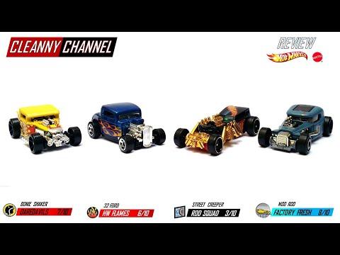 Hot Wheels, Bone Shaker, 32 Ford, Street Creeper, Mod Rod, Review, #118