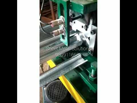 High Speed Automatic POP Channel Machine
