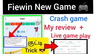 fiewin crash new game live game play & trick / online earning - @Tech & Earn Official