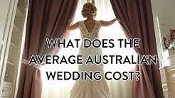 2017 Average Cost of Australian Wedding